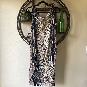 DVF Python Print Mercedes Dress